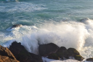 Love the waves hitting these rocks,i spend 15 mins to get a decent shot