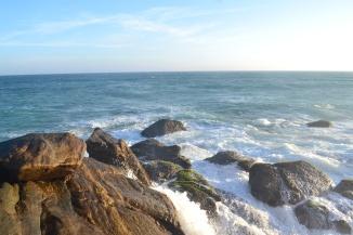 Arabian Sea, Indian Ocean and Bay Of Bengal mingle at Kanyakumari