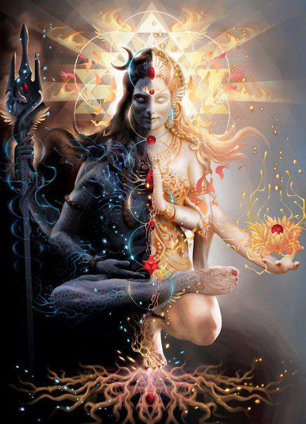 Ardhanarishvara – half man half women !!