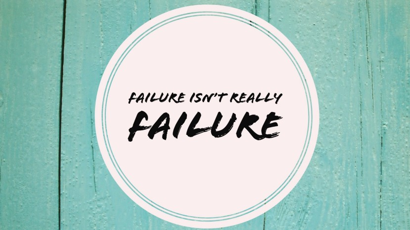 Failure – Just Another Perception